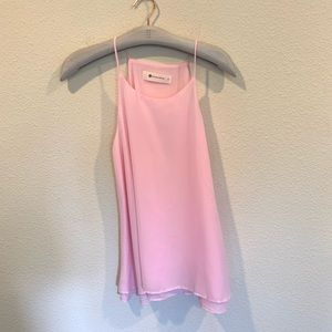 The Impeccable Pig pink layered cami tank